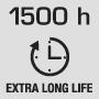 1500 hodín dlhá životnosť