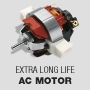Extra long-life AC Motor