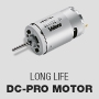 Long-life DC-Pro motor