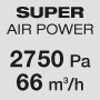 Super powerful air pressure and flow