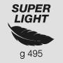 Super light weight 495 g