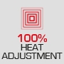 100 % Heat Adjustment