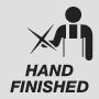 Handbearbeitet