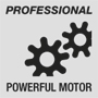 Powerful professional motor