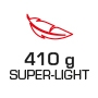 Super light weight 410 g