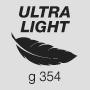 Ultra lightweight 354 g