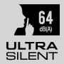 Ultra Silent 64 dB(A)