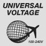 Universal Voltage 100-240V
